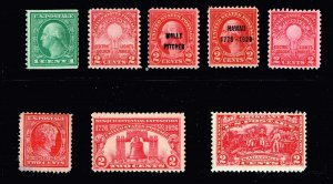 US STAMP 1920 -30 MNH STAMPS COLLECTION LOT