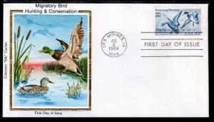 US 2092 Migratory Birds Wetlands Colorano U/A FDC