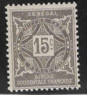 Senegal Scott J14 MH* 1914 postage due