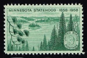 US #1106 Minnesota Statehood; used (0.25)