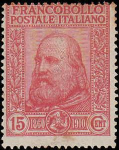 1910 Italy #115-116, Complete Set(2), Hinged