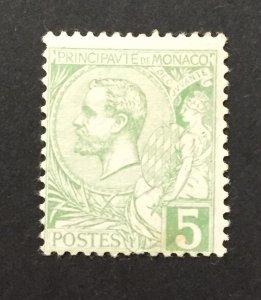 Monaco 1901  #14, Albert I, Unused/MH.