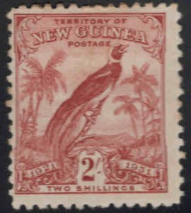 New Guinea Scott 27 MH* stamp few perf tips toned