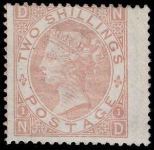 Great Britain Scott 56 Gibbons 121 Mint Stamp