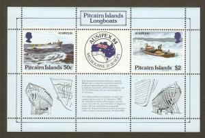 Pitcairn Islands #248 NH Longboats SS