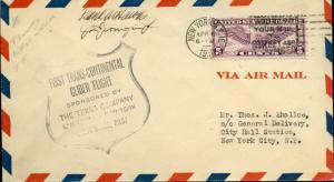 1930 SIGND CVR BY FRANK HAWKS/J.D. JERNIGIN JR BM6741