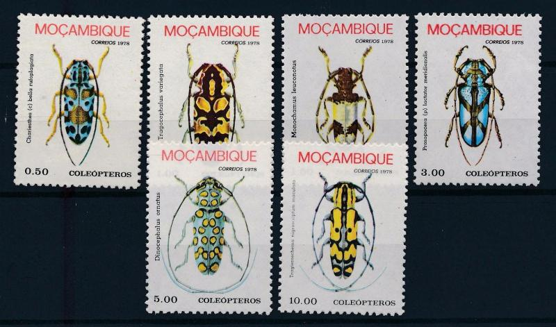 [70407] Mozambique 1978 Insects Beetles  MNH