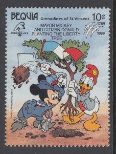 St Vincent Grenadines Bequia 273 Disney's MNH VF