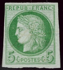 French Colony Scott #19 Mint F-VF...French Colonies are hot!