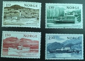 Norway 1981 #786-9 MNH. Ships