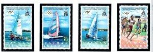 Cayman Is 718-21 MNH 1996 Olympics