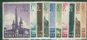 Vatican OBELISKS C35-44 NH SET CV $2.55 BIN $1.50