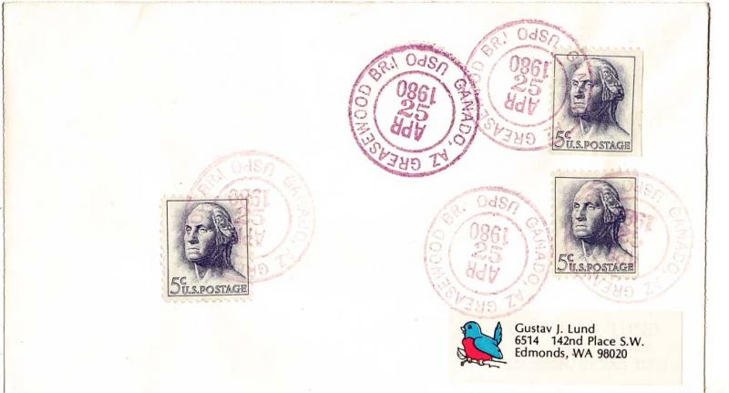 United States Arizona 1970 Postal History