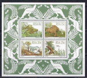 South Africa ~ Scott #  609a ~ MNH ~ Prehistoric Animals