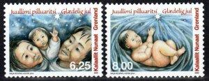 Greenland #555-6  MNH CV $5.75 (X1253)
