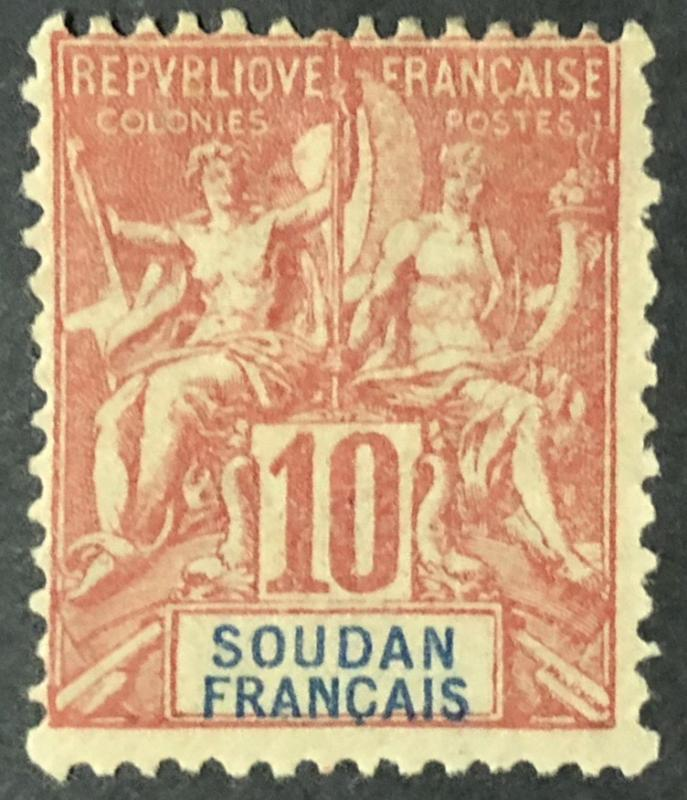 1900 French Colonies Sudan