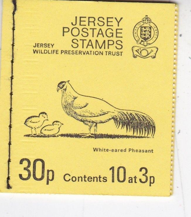 Jersey 1974 30p Stamp Booklet Mint Condition