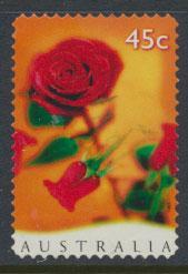 Australia SG 1666  Used - Self Adhesive  - Valentines Day