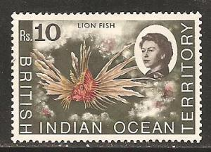 British Indian Ocean Territory SC 33  Mint, Lightly  Hinged