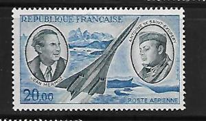 FRANCE, C43, MINT HINGED, AVIATORS AND AIR MAIL