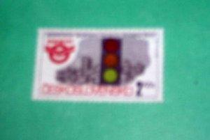 Czechoslovakia - 2854, MNH Complete. Traffic Light.SCV-$0.25