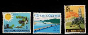 South Vietnam Scott 487-489 MNH** 1974 Tourism set