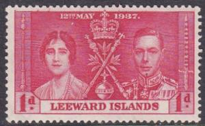 Leeward Islands 1937 SG92 HM