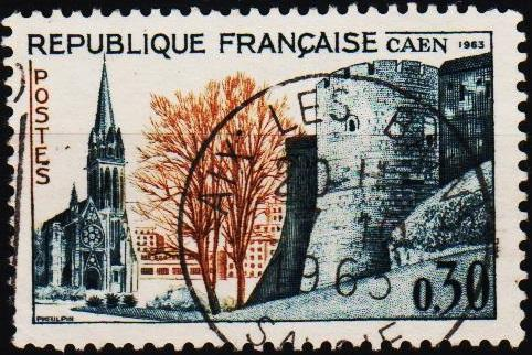 France. 1963 30c S.G.1618 Fine Used