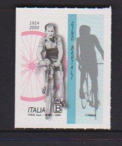 2021 Italy Gino Bartali  (Scott NA) MNH