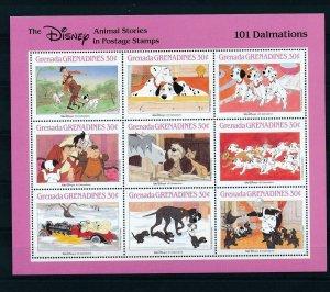 [22614] Grenada Grenadines 1988 Disney Movie 101 Dalmatians MNH