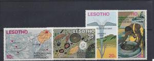 Lesotho, 145-50, Int'l Kimberlite Conference Singles, **MNH**