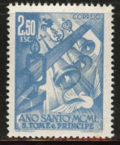 St. Thomas & Prince Islands  Scott 353 MNH** Holy year Issue of 1950