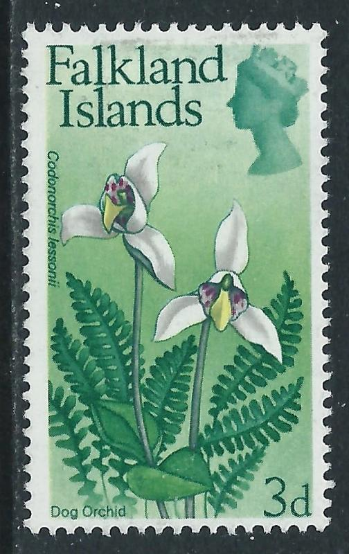 Falkland Islands, Sc #169, 3d MH