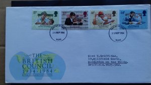 Great Britain 1984 The 50th Anniversary of the British Council FDC