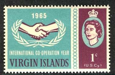 British Virgin Islands; 1964: Sc. # 161: **/MNH Single Stamp