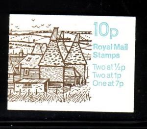 Great Britain Sc BK226 1977 MH61b booklet mint NH
