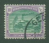 British Sudan SC# J11 Postage Due Used  SCV $2.00 wmk 214