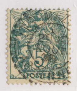 FRANCE - 1906 - CàD FACTEUR-BOÎTIER T.1884  LES MAZURES / ARDENNES  sur n°111