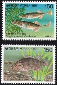 South Korea 1905-06 - Mint-NH - 150w Fish (Cpl) (1997) (cv $1.50)