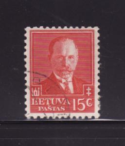 Lithuania 283 U President Antanas Smetona