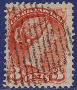 Canada - 1888 - Scott #41 - used - Small Queen Victoria
