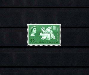 BRITISH HONDURAS - 1963 - QE II - FREEDOM FROM HUNGER - MINT - MNH SINGLE!