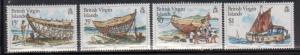 British Virgin Islands 450-3 Ship Building Mint NH