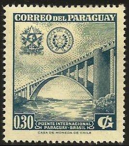 Paraguay 1961 Scott# 573 MH