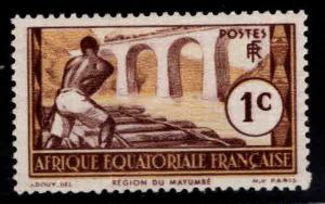 French Equatorial Africa Scott 33 MH* expect similar centering