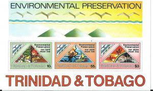 Trinidad & Tobago # 347a Souvenir Sheet (MNH) CV$5.00