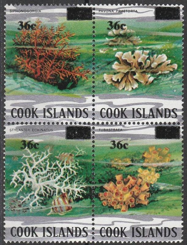 Cook Is #738  MNH F-VF  CV $4.75 (SU6824)