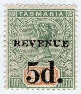 (I.B) Australia - Tasmania Revenue : Stamp Duty 5d on £1 OP