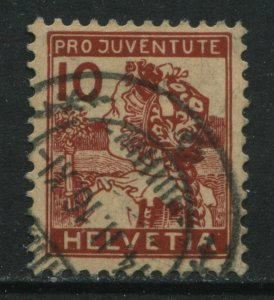 Switzerland 1915 10 centimes Semi-Postal used