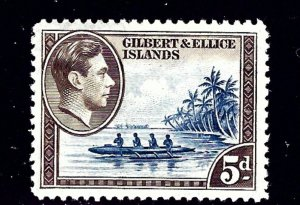 Gilbert and Ellice 46 MH 1939 issue    (ap1252)